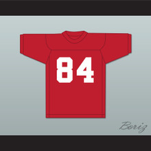 Danny Burke 84 Adams College Atoms Red Practice Football Jersey Revenge of the Nerds 2