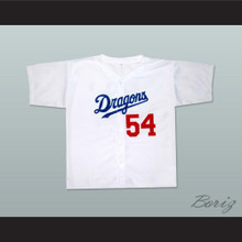 Chunichi Dragons Jack Elliot Mr. Baseball Movie Jersey White