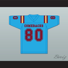 Stuntman 80 Heartland State University Comebacks Light Blue Football Jersey