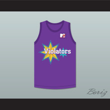 Eric Nies 9 Violators Basketball Jersey 4th Annual Rock N' Jock B-Ball Jam 1994