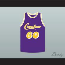 Nipsey Hussle 60 Crenshaw Purple Basketball Jersey 2