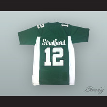 Andrew Luck 12 Stratford High School Spartans Green Football Jersey
