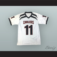 Baker Mayfield 11 Lake Travis High School Cavaliers White Football Jersey