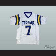 Ben Roethlisberger 7 Findlay High School Trojans White Football Jersey