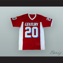 Carson Wentz 20 Century High School Patriots Red Football Jersey