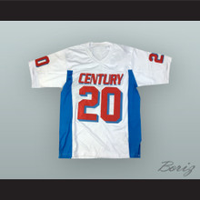 Carson Wentz 20 Century High School Patriots White Football Jersey