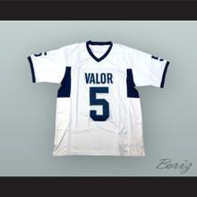 Christian McCaffrey 5 Valor Christian High School Eagles White Football Jersey