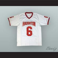 Dak Prescott 6 Haughton High School Buccaneers White Football Jersey