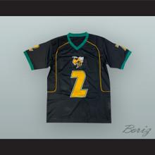 Derrick Henry 2 Yulee High School Hornets Black Football Jersey