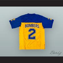 Ezekiel Elliott 2 John Burroughs School Bombers Yellow Football Jersey