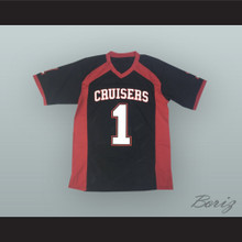 Le'Veon Bell 1 Groveport Madison High School Cruisers Black Football Jersey