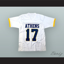 Philip Rivers 17 Athens High School Golden Eagles White Football Jersey