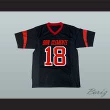 Sam Darnold 18 San Clemente High School Tritons Black Football Jersey