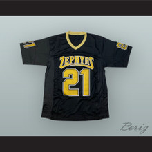 Saquon Barkley 21 Whitehall High School Zephyrs Black Football Jersey