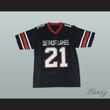 Adam Thielen 21 Detroit Lakes High School Lakers Black Football Jersey