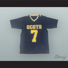 Matthew Stafford 7 Highland Park High School Scots Dark Blue Football Jersey