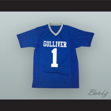 Sean Taylor 1 Gulliver Prep Raiders Blue Football Jersey