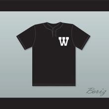 Patrick Mahomes 5 Whitehouse High School Wildcats Black Baseball Jersey 2