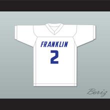 Lamar Jackson 2 Franklin High School Wildcats White Football Jersey 1