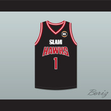 LaMelo Ball 1 Illawarra Hawks Black Basketball Jersey 1