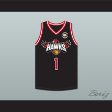 LaMelo Ball 1 Illawarra Hawks Black Basketball Jersey 2