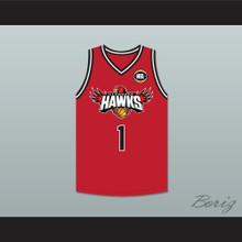 LaMelo Ball 1 Illawarra Hawks Red Basketball Jersey 2