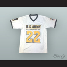 Odell Beckham Jr. 22 U.S. Army High School All-American West White Football Jersey