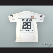 Adrian Peterson 28 U.S. Army High School All-American West White Football Jersey