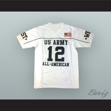 Andrew Luck 12 U.S. Army High School All-American West White Football Jersey
