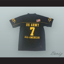 Patrick Peterson 7 U.S. Army High School All-American East Black Football Jersey