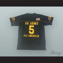 Tim Tebow 5 U.S. Army High School All-American East Black Football Jersey