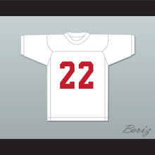 Billy Clyde Puckett 22 Miami White Football Jersey Semi-Tough