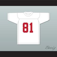 Marvin 'Shake' Tiller 81 Miami White Football Jersey Semi-Tough