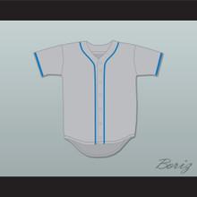George Plimpton 58 Exhibition Game Gray Baseball Jersey