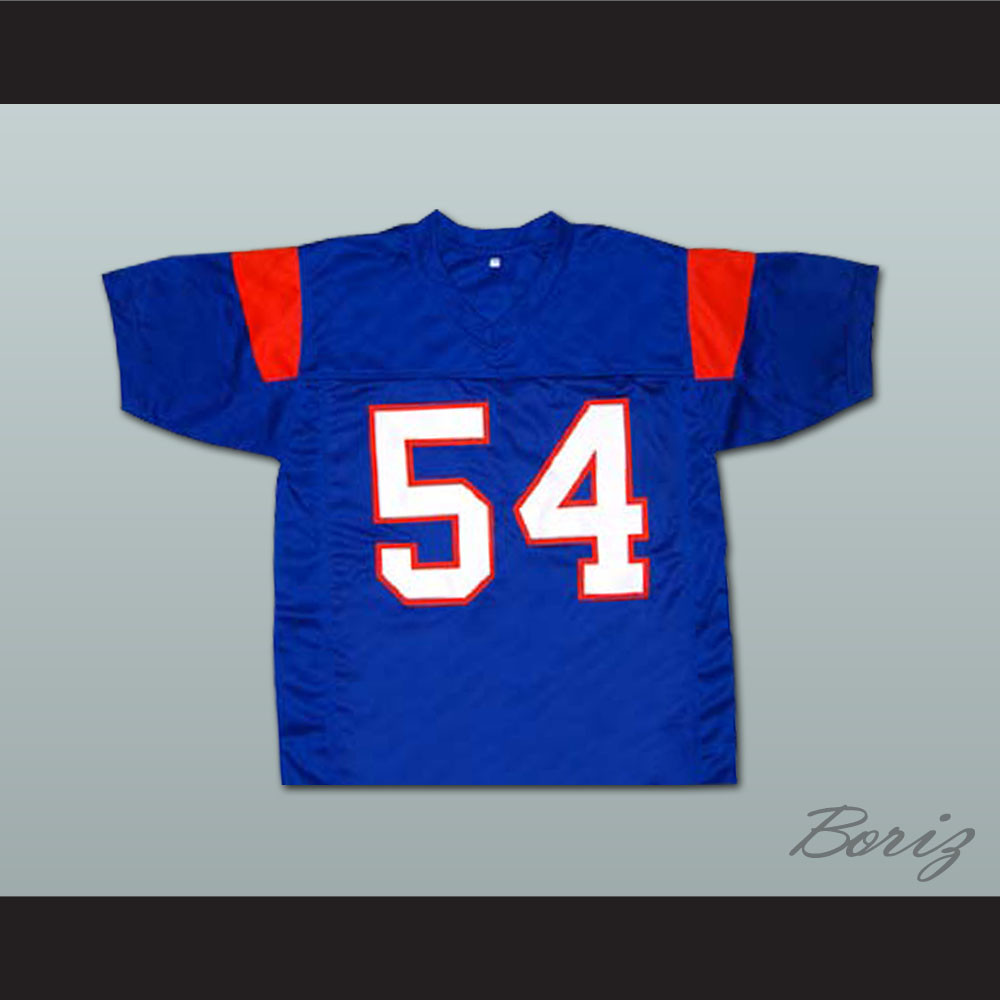 f670f7f2b4d Thad Castle 54 Blue Mountain State Goats Football Jersey Blue. Price    55.99. Image 1