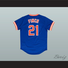 Sidd Finch 21 New York Baseball Jersey April Fools' Day Prank