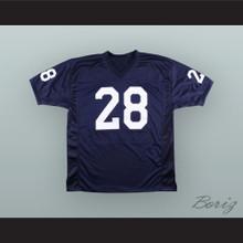 Rocky Bleier 28 Notre Dame Navy Blue Football Jersey