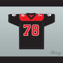 Brian Grizby 78 Minnville High School Grizzlies Football Jersey Quarterback Princess 1