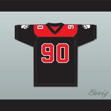 Marvin Blaylock 90 Minnville High School Grizzlies Football Jersey Quarterback Princess 1