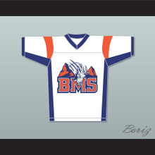 Thad Castle 54 Blue Mountain State Goats Football Jersey Stitch Sewn White