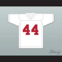 Dave Promisco 44 Mustangs High School White Practice Football Jersey Windrunner 2