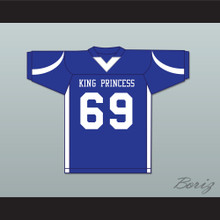 King Princess 69 Prophet Blue Football Jersey