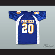 Friday Night Lights Brian Smash Williams 20 Dillon High School Panthers Football Jersey
