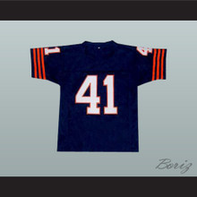 Brian's Song Movie Brian Piccolo 41 Chicago Football Jersey Dark Blue