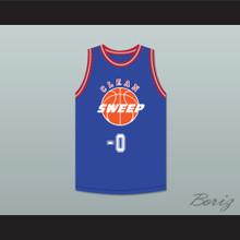 Ernest P. Worrell 0 Clean Sweep Deluxe Blue Basketball Jersey Slam Dunk Ernest 1