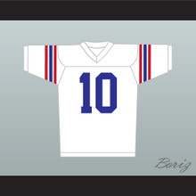 Johnny Depp Glen Lantz 10 Football Jersey Stitch Sewn
