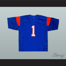 Harmon Tedesco 1 Blue Mountain State Goats Football Jersey Blue