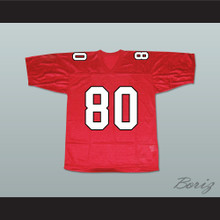 Mike Chang 80 William Mckinley High School Football Jersey