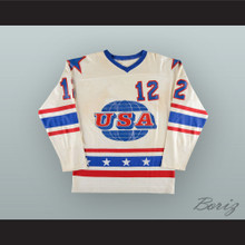 Bobby Crawford 12 Team USA World Junior Championships White Hockey Jersey