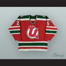 Valeri Zelepukin 25 Utica Devils Red Hockey Jersey